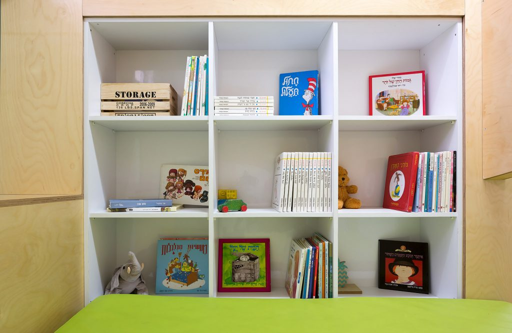 תצוגה ואחסון ספרים באופן שמעודד קריאה