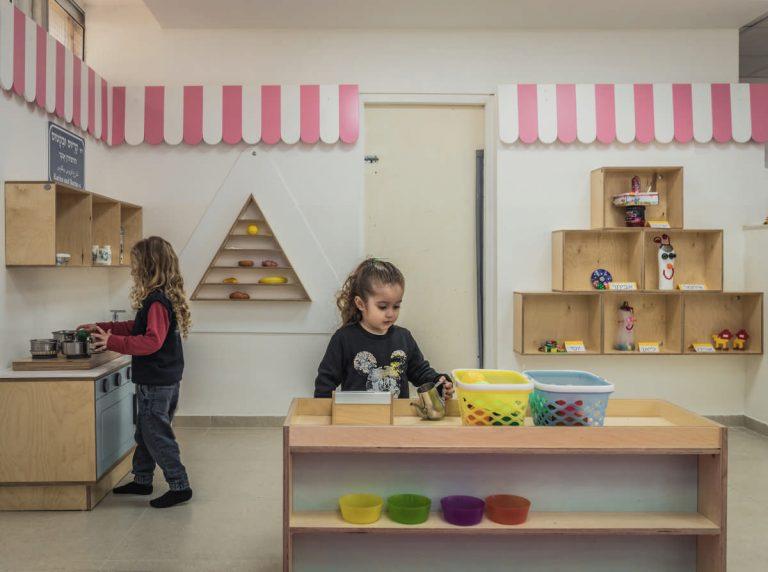 מרחב משחק לימודי - 'שוק מחנה יהודה'