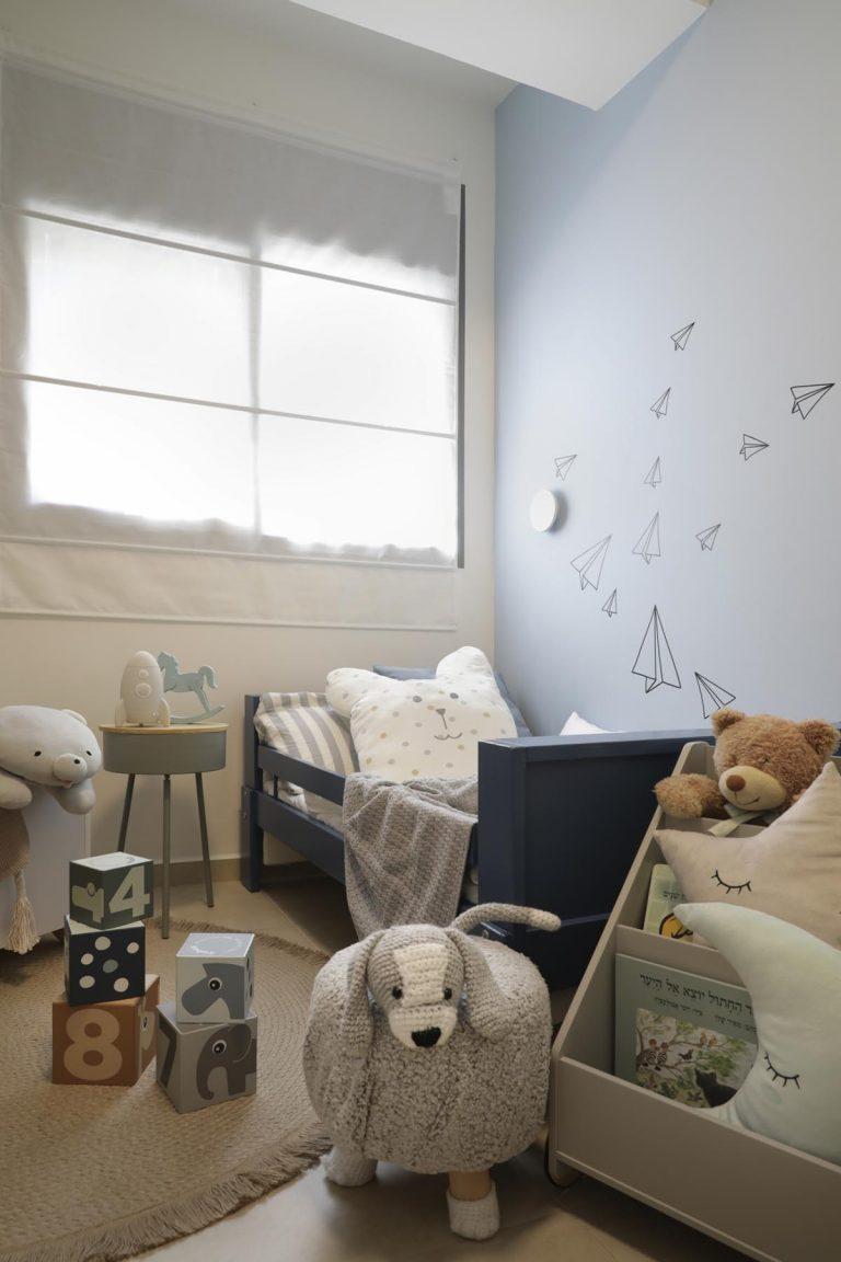 אדר' לילך פלד-עיצוב חדר ילדים צבעוני ושמח