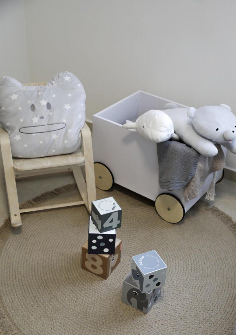 שילוב שטיח וריהוט-עיצוב חדר ילדים אדר' לילך פלד