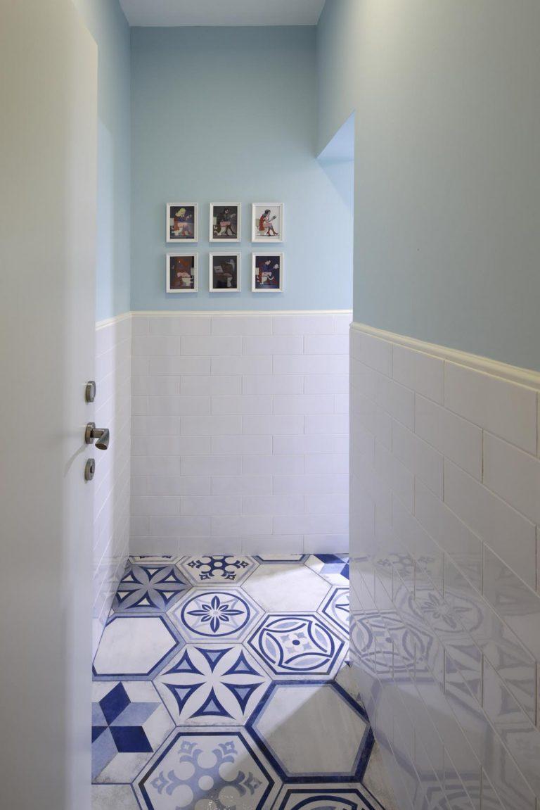 אדריכלית לילך פלד מעצבת חדר רחצה לילדים