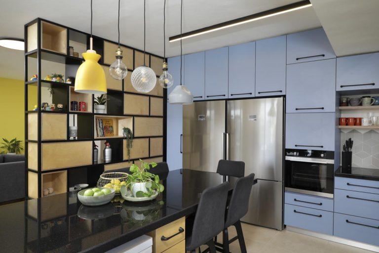אדר' לילך פלד - תכנון מטבח צבעוני ופרקטי
